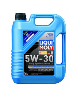 Liqui Moly 2039 Longtime High Tech 5W-30 Synthetic Motor Oil - 5 Liter Jug