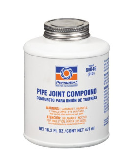 Permatex 80045 Pipe Joint Compound, 16.2 oz. Bottle