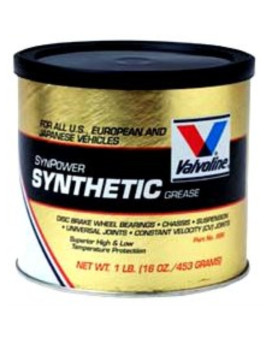 Valvoline VV986 SynPower Synthetic Grease (for all US, European and Japanese Vehicles), 16 oz.