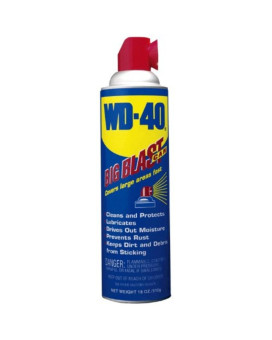 WD-40 100249 Multi-Use Product Spray with Big Blast Nozzle, 18 oz. (Pack of 1)