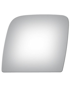 Upper Flat Driver Side Mirror Replacement Glass For 2003-2014 Ford E-150 Econoline