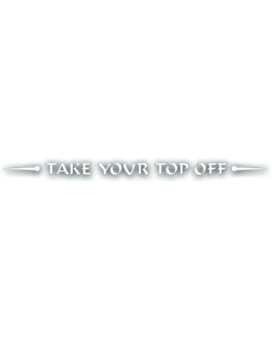 Windshield Decal For Jeep, Wrangler For Flat Glass- Take Your Top Off, For Hard Or Soft Top Removed - In WHITE - 2x42 inch
