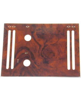 URO Parts WK-107ACB2 Burl Wood A/C Panel