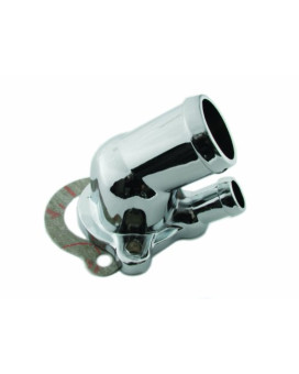 Mr. Gasket 9714 Chrome Aluminum O-Ring Style Water Neck