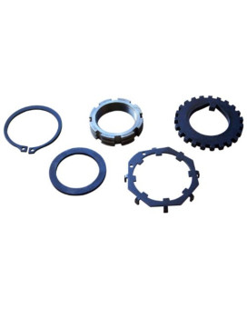 Stage 8 DNA-44 X-Lock Locking Spindle Nut Assembly for Dana 30, 35, 44 and GM Corporate 10 Bolt Spindles