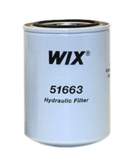 Wix 51663 Spin-On Hydraulic Filter, Pack of 1