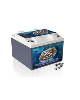 XS Power D925 XS Series 12V 2,000 Amp AGM High Output Battery with M6 Terminal Bolt