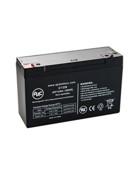 Streamlight 45937 Sealed Lead Acid - AGM - VRLA Battery - This is an AJC Brand® Replacement