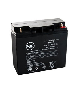 Sunnyway SW12180 Sealed Lead Acid - AGM - VRLA Battery - This is an AJC Brand® Replacement