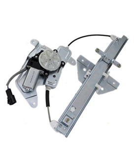 Passengers Rear Power Window Lift Regulator with Motor Assembly Replacement for Pontiac Oldsmobile 22730702
