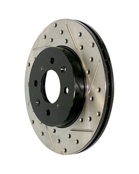 Stop Tech 127.62015L Sportstop Slotted and Drilled Brake Rotor