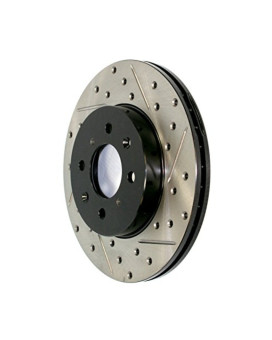 Stop Tech 127.62065R Sportstop Slotted and Drilled Brake Rotor