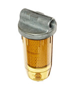 GOLDENROD (495-3/4) Bowl Fuel Tank Filter with 3/4