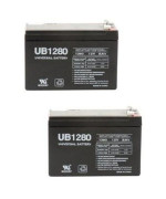 Universal Power Group Inc 86449 Battery Sealed Lead Acid Ub1280 (Pack of 2)
