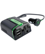 GOXT 23400 120W Inverter with Dual USB Port