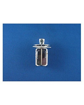 RV Trailer Camper Fresh Water Lavatory Stopper Chrome STRYBUC INDUSTRIES P-500C