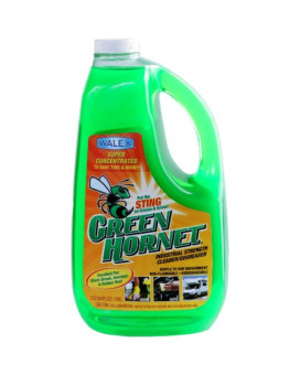 Walex GH64OZ Green Hornet Super Concentrate Cleaner/Degreaser - 64 oz.