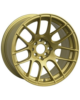 XXR 530 16 Gold Wheel / Rim 4x100 & 4x4.5 with a 20mm Offset and a 73.1 Hub Bore. Partnumber 53068087