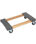 Carpeted Wood Movers Dollie 18