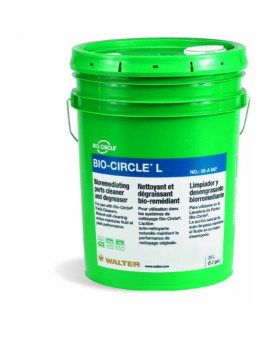 Walter 55A007 Bio-Circle L Industrial Parts Cleaner and Degreaser, 20L Pail