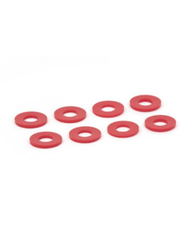 Daystar KU71074RE Red D-Ring/Shackle Washer, (Set of 8)