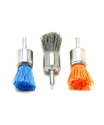 Dico 30-3/4 End Nyalox End Brush Kit 3/4-inch Assorted Nyalox End Brushes, 3-Piece