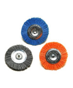 Dico 50-3 Wheel Nyalox Wheel Kit 3-inch Assorted Nyalox Wheel Brushes, 3-Piece