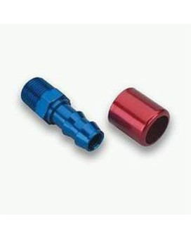 "Earl's 720111ERL Straight -1/2"" NPT Male to 5/8"" Barb"