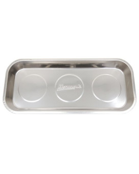 Homak   HA01014000 14-Inch Rectangular Stainless Steel Magnetic Tray