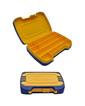 """Megapro 6KITCASE Plastic Tool Case for MegaPro Screwdrivers, Tips and Extensions, 7"""" Length x 5"""" Width x 3"""" Height"""