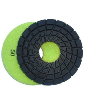 Toolocity 7PDR0050 7-Inch Rigid Diamond Polishing Pads, 50 Grit