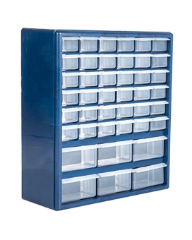 Trademark Tools 75-3021 Deluxe 42 Drawer Compartment Storage Box