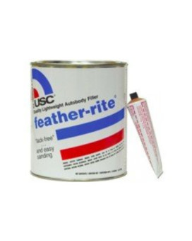 USC Feather-Rite Lightweight Body Filler Putty Gallon