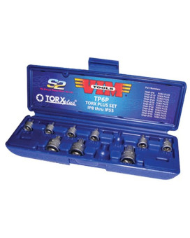 VIM Tools TP6P 11-Piece Torx Plus Impact Set