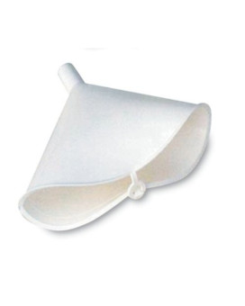 WirthCo 32610 Funnel King White Polyethylene Folding Funnel - 12 oz. Capacity