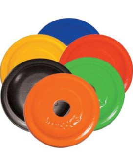 Woodys Round Aluminum Support Plates - Green - 5/16in. Thread AWA-3780