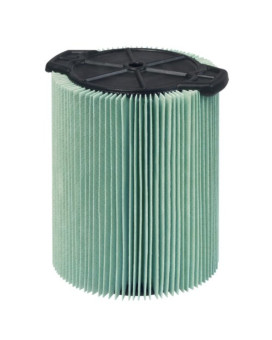 WORKSHOP Wet/Dry Vacs WS23200F HEPA Media Filter for Shop Vacuum, 5 to 16-Gallon