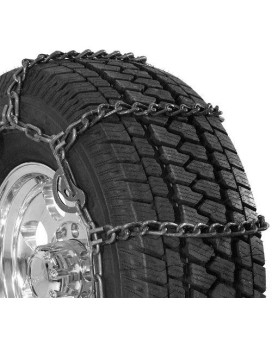 Security Chain Company Qg3229Cam Quik Grip Wide Base Type Cam-Dh Light Truck Tire Traction Chain - Set Of 2