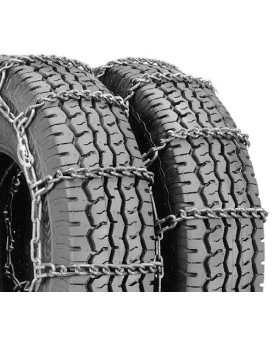 Security Chain Company Qg4228Cam Quik Grip Type Cam-Dt Light Truck Dual And Triple Tire Traction Chain - Set Of 2
