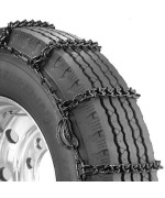 Security Chain Company Qg2849Cam Quik Grip V-Bar Truck Single Cam Rs Tire Traction Chain - Set Of 2