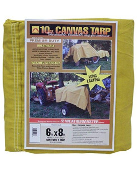 Weathermaster Ca0608 Canvas Tarp