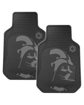 Plasticolor 001582R01 Star Wars Darth Vader Floor Mat Set