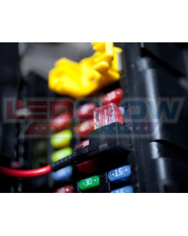 LEDGlow Mini Expandable Circuit & 4 Amp Fuse - Easily Connects To 12 Volt Power Source