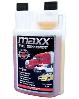 """CleanBoost Maxx""""¢ 32oz Fuel Treatment for Gas & Diesel Fuel - Treats 960 Gallons"""