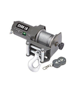 2500 Lb. Atv/Utility Electric Winch With Wireless Remote Control Hfj14
