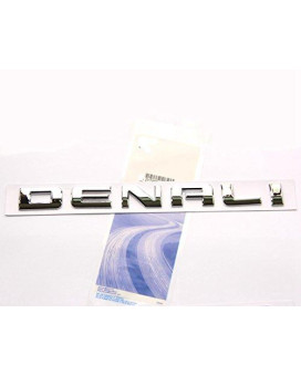 Yoaoo?? 1pcs Original Chrome Denali Nameplate Emblem Hd Badge for Gm 07-16 Yukon Sierra Terrain