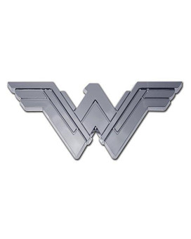 Wonder Woman (Stacked) Chrome Auto Emblem