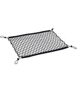 Drive Auto Products Cargo Net Cover For Car Trunk Organizer Storage With Straps