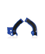 Acerbis X-Grip Frame Guards - Blue/Black 2640271034